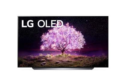 LG C1 77 inch 4K Smart OLED TV - OLED77C14LB main image
