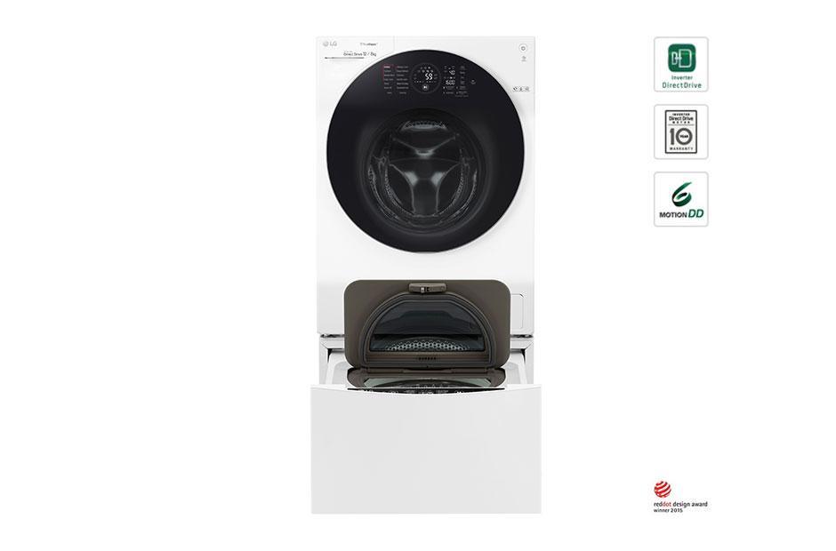 Πλυντήριο Ρούχων TWINWash™ 12+ 2 kg Ατμού main image
