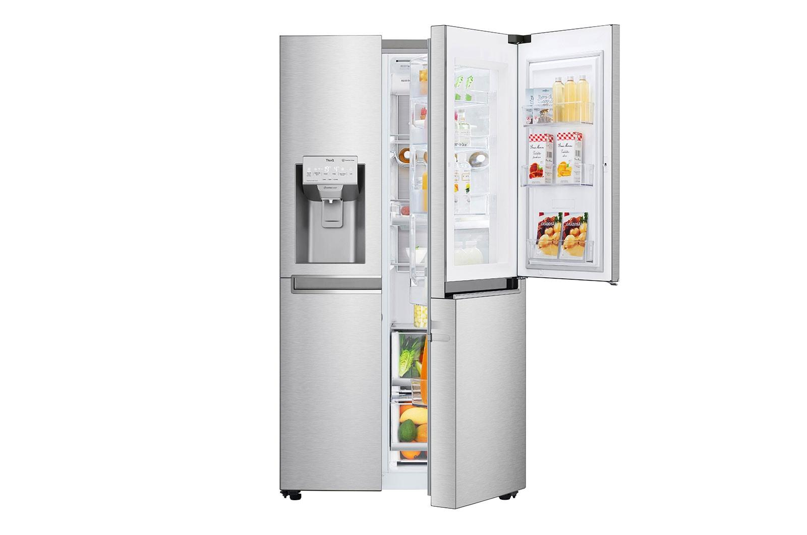Ψυγείο Ντουλάπα Κάθετης Διάταξης Total No Frost - GSJ960NSCZ main image