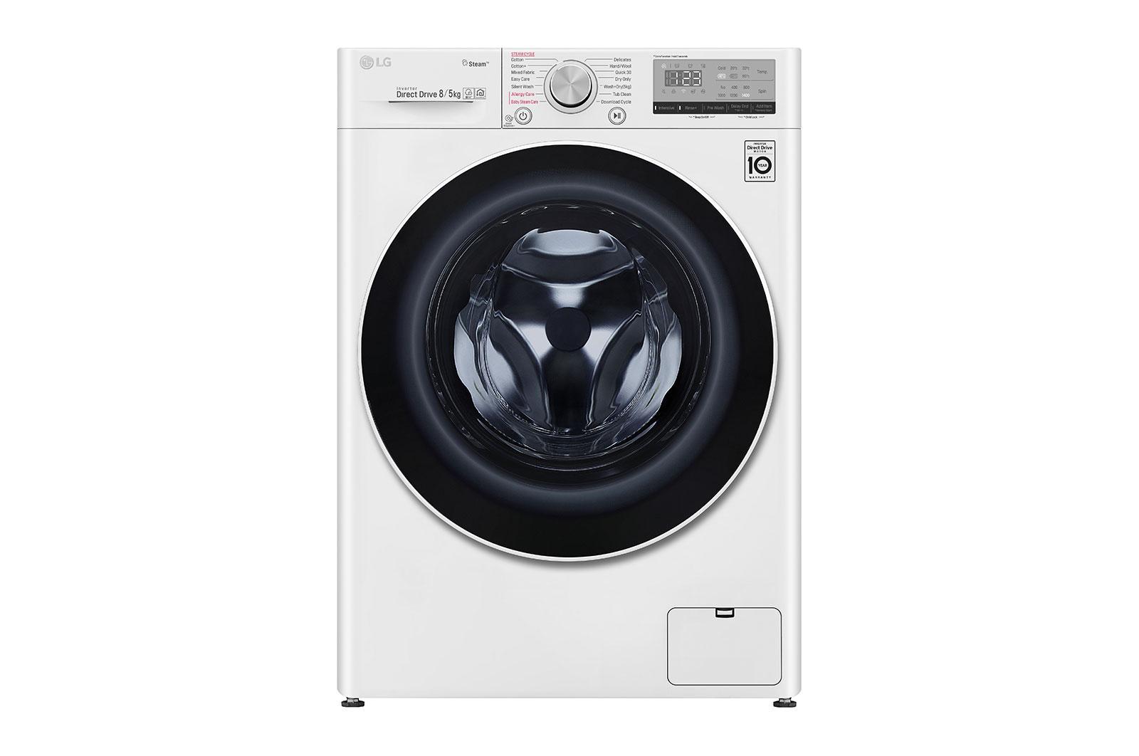 ΠλυντήριοΣτεγνωτήριο Ρούχων 85kg Ατμού, AI DD - F4DV408S0E main image