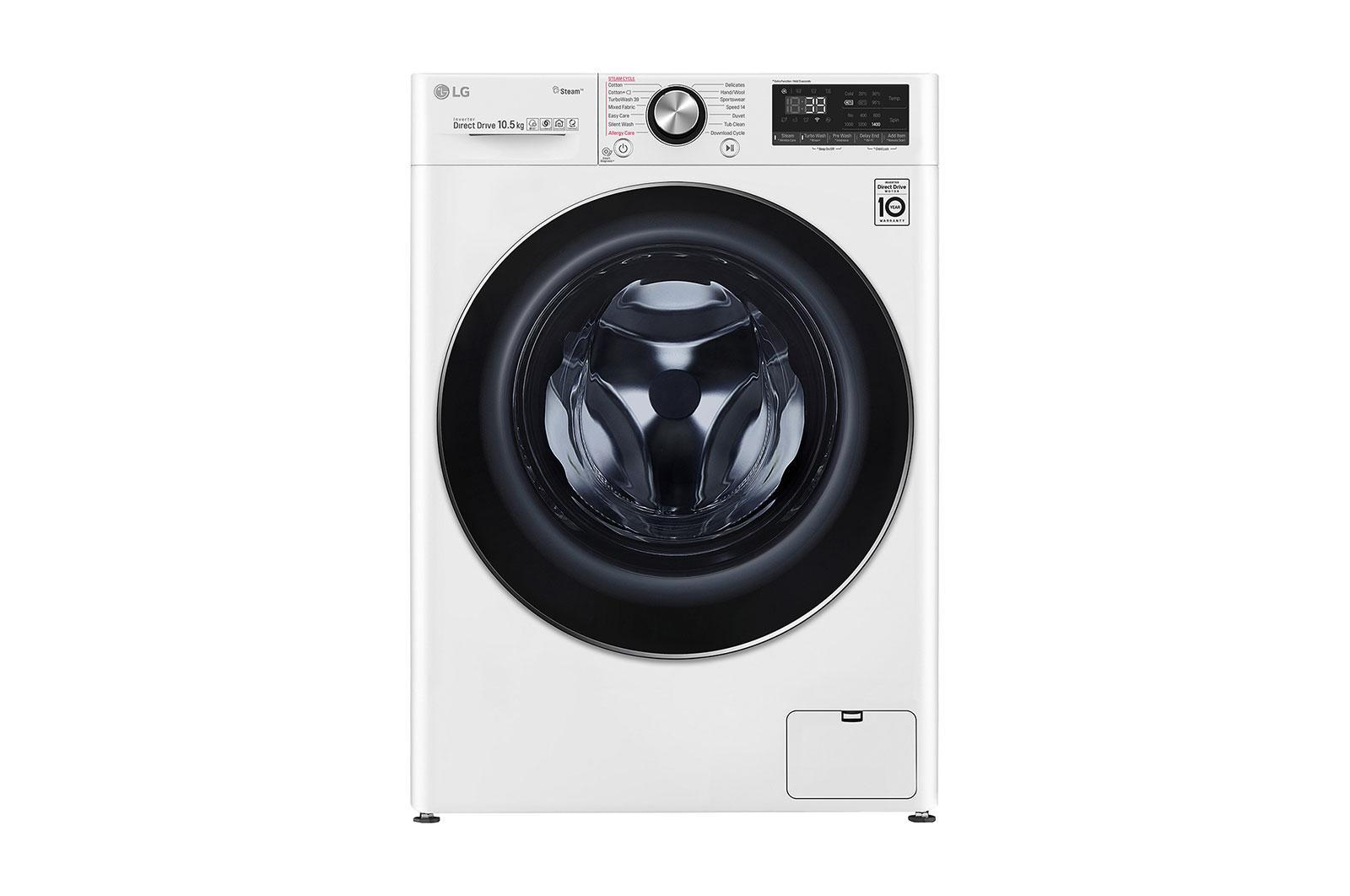 Πλυντήριο Ρούχων 10.5kg Ατμού, TurboWash™360˚, AI DD™ - F4WV910P2 main image