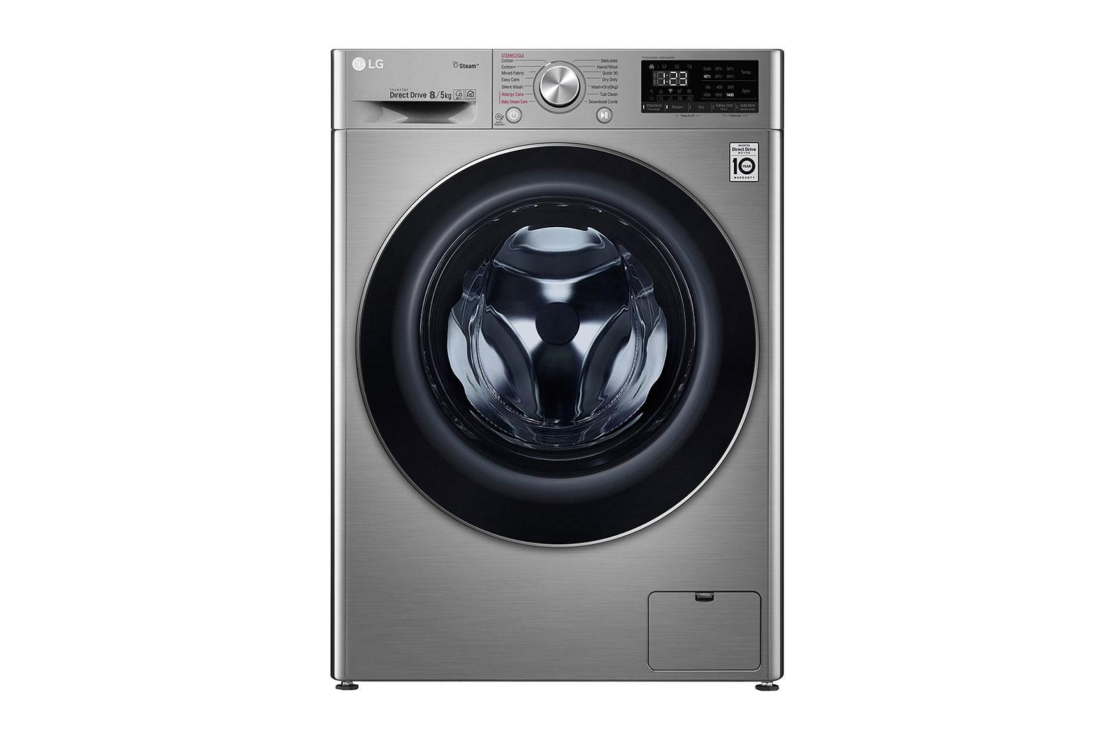 Πλυντήριο Στεγνωτήριο Ρούχων 9kg - 5kg Ατμού, AI DD - F4DV408S2T main image
